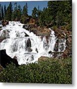 Running Water Glen Alpine Falls Metal Print