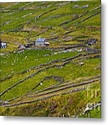 Rural Landscape On Dingle Peninsula Metal Print
