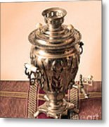 Russian Samovar Metal Print