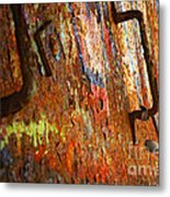 Rust Background Metal Print