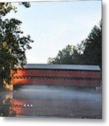 Sachs Covered Bridge  Near Gettysburg Metal Print