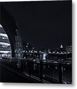 Sage Gateshead At Night Metal Print