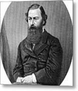 Samuel Baker, British Explorer Metal Print by
