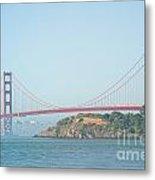 San Francisco Harbour Metal Print