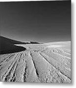 Sand Lines Metal Print