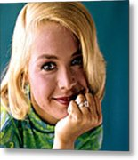 Sandra Dee, Ca. Early 1960s Metal Print
