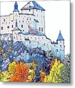 Schloss Tarasp Switzerland Metal Print by Joseph Hendrix