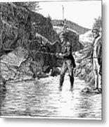 Scotland: Fishing, 1880 Metal Print