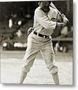Shoeless Joe Jackson  (1889-1991) Metal Print