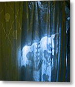 Shower Shadows Metal Print