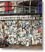 Shrine To Ianto Metal Print