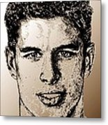 Sidney Crosby In 2007 Metal Print