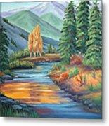 Sierra Creek Metal Print