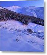 Sierra Nevada National Park Metal Print