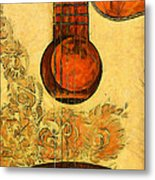 Six-string Acoustic II Metal Print