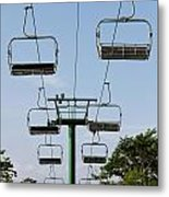 Sky Ride Metal Print by Blink Images