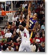 Slam Dunk Metal Print by Eddie Yerkish