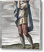 Slide Trumpet, 1723 Metal Print