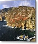 Slieve League, Co Donegal, Ireland Metal Print