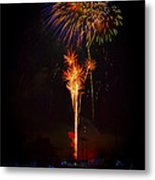 Small Town Celebration Metal Print