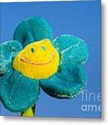 Smile Flower Metal Print