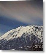 Snow-capped Alps Metal Print