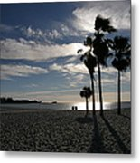 Sombrero Beach Metal Print