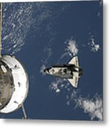 Space Shuttle Endeavour, A Russian Metal Print