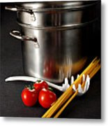 Spaghetti Metal Print by HD Connelly