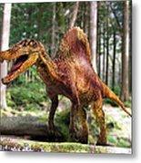 Spinosaurus Dinosaur Metal Print
