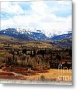 Spring In The Rockies Metal Print