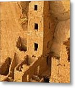 Square Tower Evening Metal Print