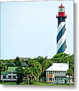 St. Augustine Lighthouse Metal Print