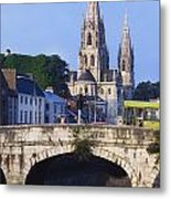 St. Finbarres Cathedral, Cork, Co Cork Metal Print