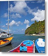 St Lucia Metal Print