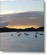 St. Thomas Sunset Metal Print