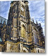 St Vitus Cathedral - Prague Metal Print