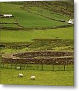 Staigue Fort, Kerry Metal Print