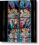 Stained Glass Pc 05 Metal Print