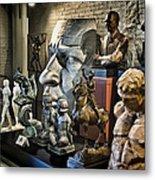 Statues Metal Print