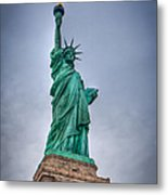 Staute Of Liberty Metal Print