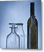 Still Life Of Bottles  Metal Print