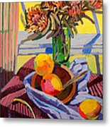 Still Life With Mangoes Metal Print