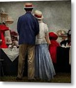 Store - The Hat Stand  Metal Print