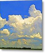 Storm Clouds Rising  Art Metal Print