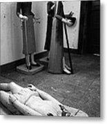 Stripped Saints Metal Print by Gaspar Avila