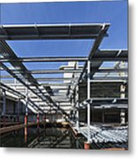 Structural Steel Construction Of An Metal Print