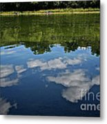 Summer's Reflections Metal Print