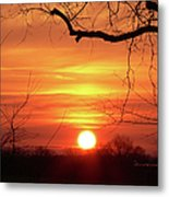 Sunrise In Tennessee Metal Print