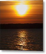 Sunrise On Seneca Lake Metal Print
